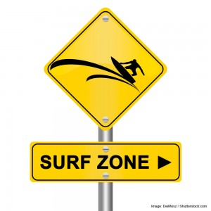 Surf Zone Sign