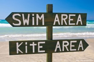 Swim and Kite Area