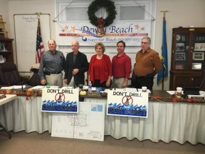 Dewey Beach, DE. Commissioners take a stand against Big Oil.